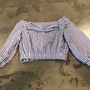 Zara crop top- never worn